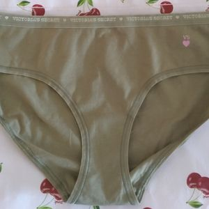 Victoria's Secret cotton hipster panty size large